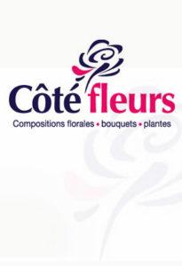 Graphiste création logo, entreprise de fleurs